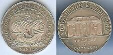Jeton - NANTES chambre de commerce argent 15 grammes d=31,6mm