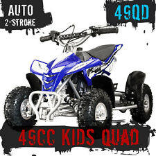 NEW 49CC STARTER MINI QUAD BIKE ATV BUGGY KIDS 4 WHEELER POCKET PIT DIRT BIKE