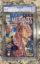 New Mutants #98 CGC 9.8 1991 1st app. Deadpool, Gideon, Domino