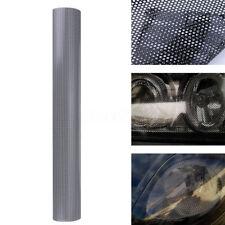 30cm X 106cm Headlight Tint Perforated Film Mesh Like Fly Eye MOT Legal Tinting