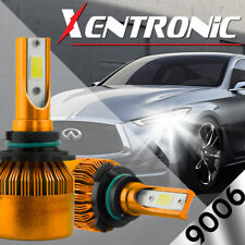 XENTRONIC 9006 HB4 LED headlight Conversion Kit 60W 7600LM bulbs CREE 6000K Pair
