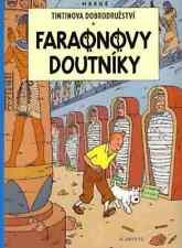 Tintin Les Cigares du Pharaon Hergé album Tchèque CZECH langue étrangère Edition