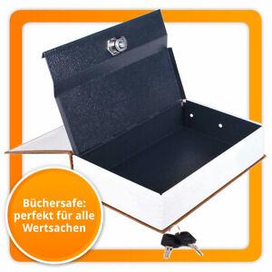 Buchtresor XL Buchsafe - Bücher-Safe & Buch-Tresor Geldkassette Geheimversteck