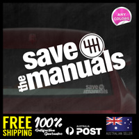 SAVE THE MANUALS -  DECALS JDM STICKERS ILLEST 195x73mm 4X4 4WD HILUX #JDM0020