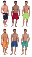 Mens Cargo Bay Microfibre Swimshorts with Side Piping Detail, Swimming Shorts