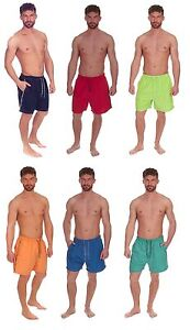 Mens Cargo Bay Microfibre Swimshorts with Side Piping Detail, Swimming Shorts,