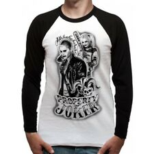 Suicide Squad Baseball Shirt T-shit Long Sleeve Property of L
