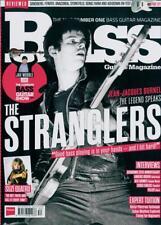 Bass Guitar Magazine Feb 2018 Jean-Jacques Burnel The Stranglers Suzi Quatro