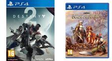 destiny 2  &  realms of arkania blade of destiny   PS4   NEW SEALED