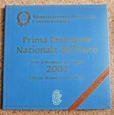 Pièces euro de l'Italie pour 1 Euro année 2002