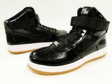 Nike air force 1 (AF1 airness) mi noir/blanc 654851-001 uk 4.5