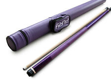 Champion Gator Purple Billiards Maple Pool Cue Stick(20 oz), Fury Purple Case