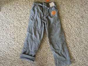 NWT Gymboree Boys Pull on Pants Gymster Fleece Lined gray Moto Boss many sizes