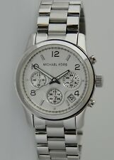 Michael Kors Runway MK5076 Midsize Chronograph Unisex Stainless Steel Watch