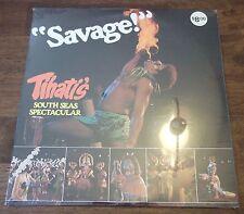 """SAVAGE"" TIHATI'S SOUTH SEAS SPECTACULAR (SEALED MINT) RECORD-LP-ALBUM-VINTAGE"