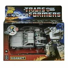 Transformers Gigawatt Back to the Future Mash-Up 35th ANN Exclusive SOLD OUT