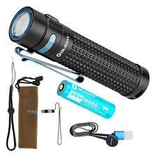 Olight S2R Baton II 1150 Lumen Rechargeable Flashlight with Olight Battery