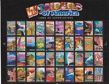 Full mint sheet of 40 2006 Wonders of America 39 Cent Stamps #4033-72