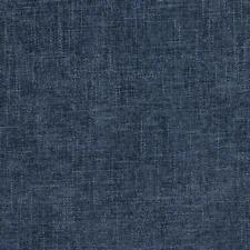 Essentials Chenille Upholstery Drapery Fabric Navy Indigo