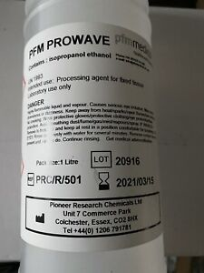 Rubbing Alcohol IPA ( Isopropanol Ethanol ) 1000ml Bottle Lab Grade Use Only