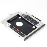 2nd HDD SSD Hard Drive SATA Caddy + bezel For Lenovo T440p T540 T540p W540 W541