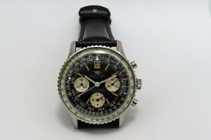 BREITLING VINTAGE CHRONOGRAPH NAVITIMER 806 S/STEEL 41 MM IN MINT CONDITION !!