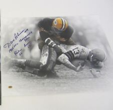 Dave Robinson Green Bay Packers signed 16x20 photo w/inscription CAS COA