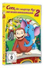 COCO,DER NEUGIERIGE AFFE 2-AUF WILDER  DVD NEU