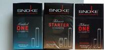 SNOKE  E- Zigarette 3 Stück + 3 Caps