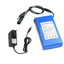 DC 12V 15000mAh Super Rechargeable Portable Li-ion Battery US Plug Battery Pack