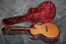 Aria Sandpiper Pro Acoustic Electric Guitar w/ Case Natural Cutaway Fishman NEW