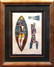 """Neal Doty""""Eagle Flies on Sunday"""" H.Signed Intaglio Etching Artwork MAKE AN OFFER"""