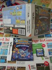 Nintendo DS:Pokémon Donjon Mystère - Equipe de Secours Bleue [TOP] COMPLET - Fr