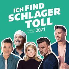 ICH FIND SCHLAGER TOLL Frühjahr/Sommer 2021 (Neuheit 12.03.2021) 2 CD NEU & OVP