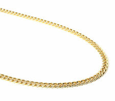 """Mens 14k Gold Plated 8mm Chunky Dome 30"""" Inch Cuban Hip Hop Chain"""
