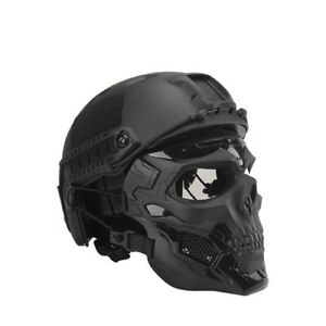 2021 Bulletproof helmet bulletproof skull mask light tactical bulletproof helmet