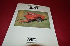 Massey Ferguson 220 Square Baler Dealers Brochure YABE11 ver4