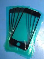 3x iPhone 5 5c 5s pantalla vidrio disco Black negro 100% OEM