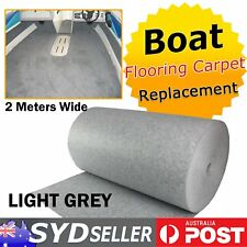 Boat Carpet Decals Replacement Marine Flooring Underlay Rug Light Grey 2 x 1.4M