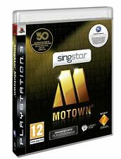 SingStar Motown Solus (PS3, 2009) Region Free Disc Mint Excellent Condition J2l