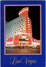 Vintage Sam Boyd's Fremont Hotel Casino Glitter Gulch Las Vegas Neon postcard D