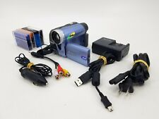 PANASONIC PV-GS19 MINI DV CAMCORDER WITH TAPES, CHARGER & ACCESSORIES - TESTED