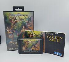 Golden Axe II Edition PAL Sega Mega Drive (Boite / Notice)