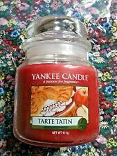 new Yankee Candle Tarte Tatin medium  jar