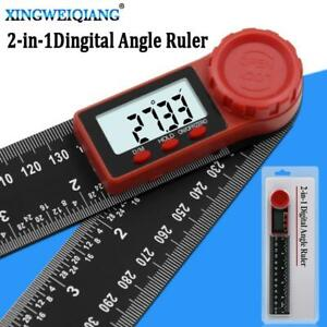 200mm Digital Instrument Angle Inclinometer Angle Digital Scale Electronic Gonio