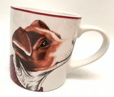 Williams Sonoma Jack Russel Terrier Dog Christmas Sweater Coffee Mug