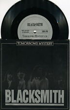 Blacksmith - ´´Tomorrows Mystery´´ - RARE PRIVATE SWEDISH METAL 7´´ VINYL 1986