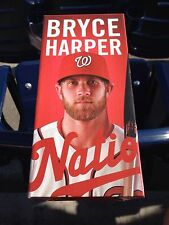 2014 Washington Nationals BRYCE HARPER Bobblehead SGA BOBBLE HEAD + BONUS CARDS