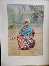 DAHOMEY:Gravure 19°in folio couleur/ FETICHEUR