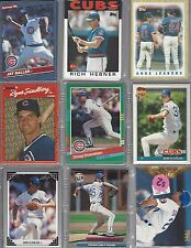1986 1987 1990 1991 1996 Cubs Team Set Sets Lot of 9 Diff NM-MT  No Traded